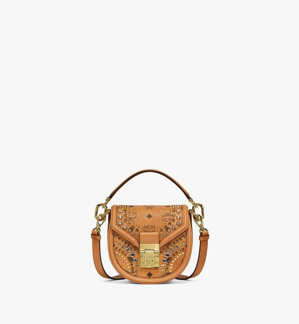 MCM Shoulder Bag In Crystal Visetos