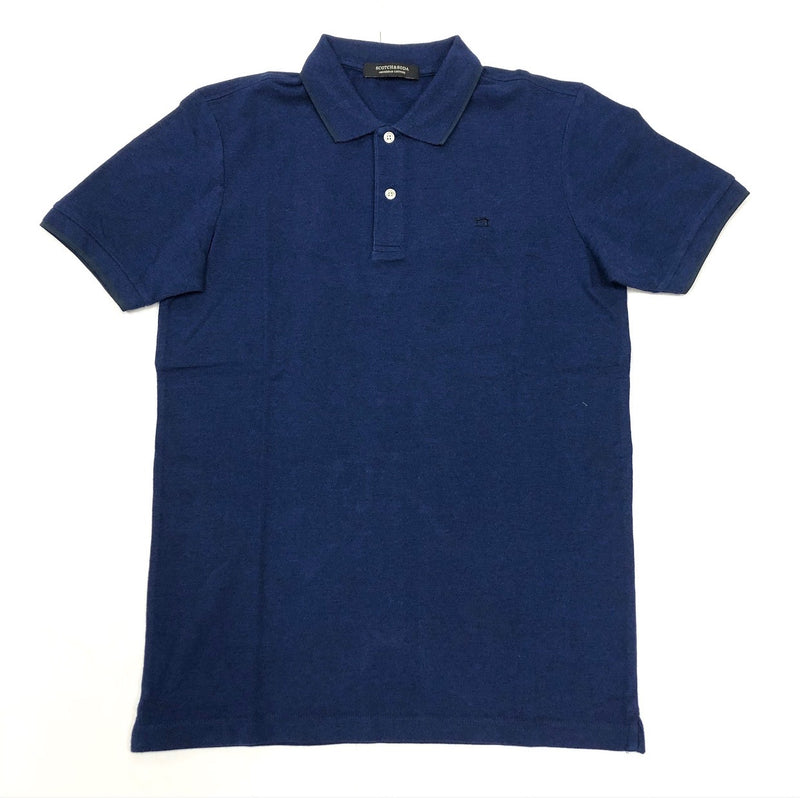 Scotch&Soda-Blauw Polo (Navy)
