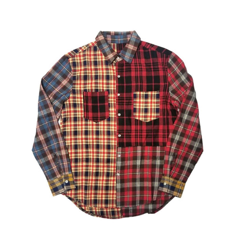 Kleep Men's Mixed Flannel Shirt