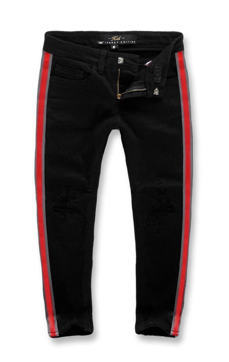 Jordan Craig Kids Striped Pants (Jet Black)