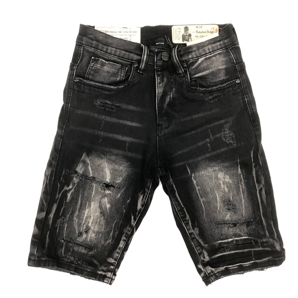 Industrial Charcoal Wash Shorts (275)