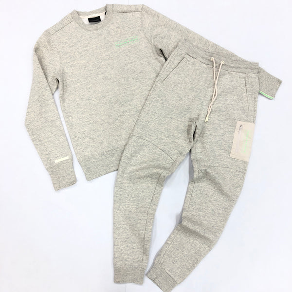 Scotch & Soda-Heather Grey Jogging Set