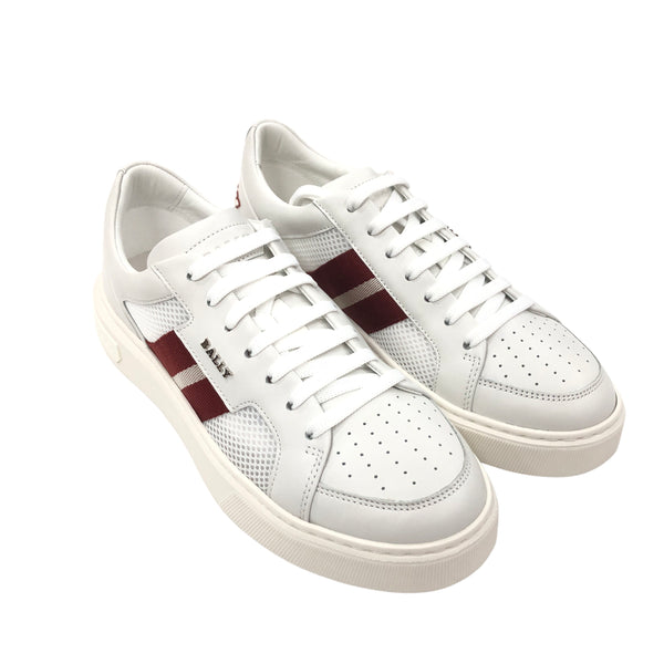Bally Melys Sneaker In White Leather