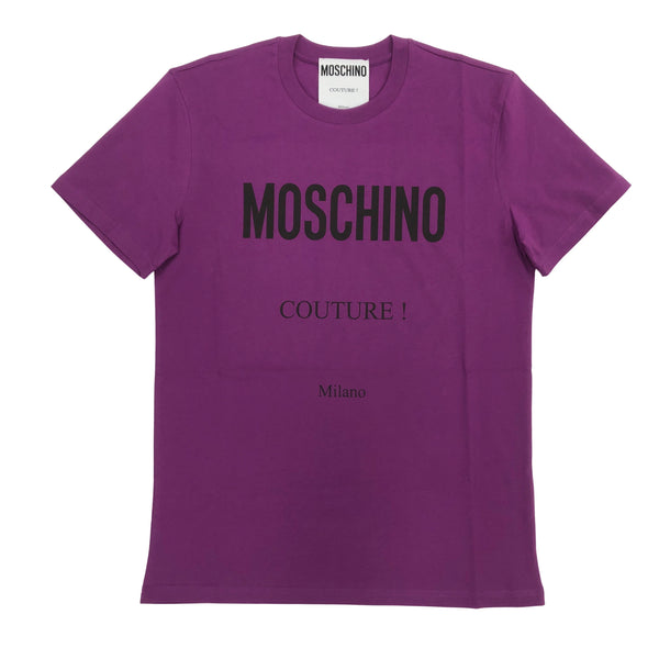 Cotton Logo Tee (Purple)