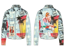 Embellish NYC Angel Denim Jacket