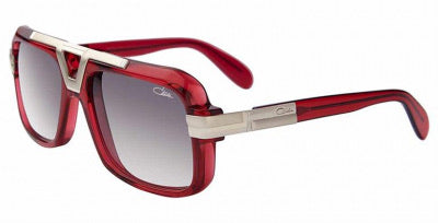 Cazal Red/Silver 664