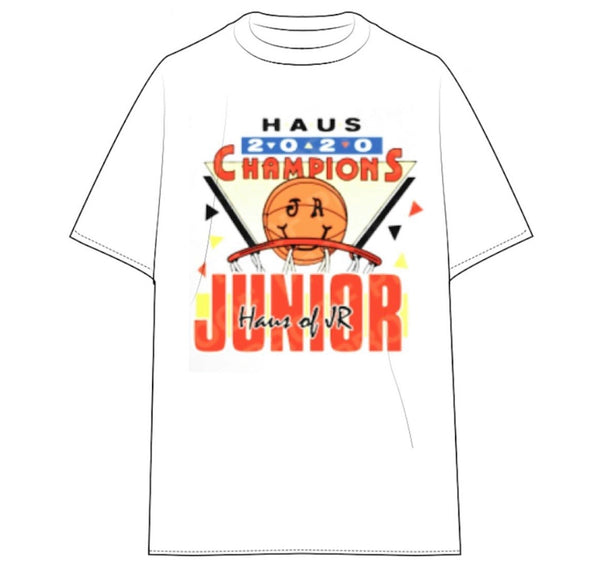 Haus Of Jr Kids Champion Tee (White)