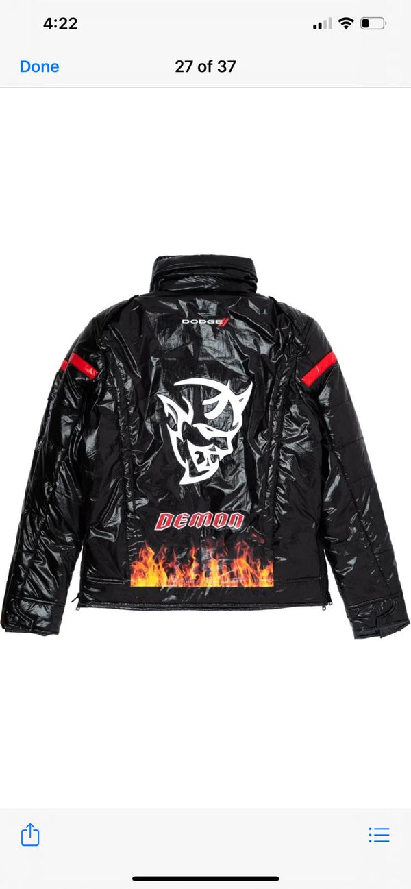 Club Foreign Demon Bubble Jacket
