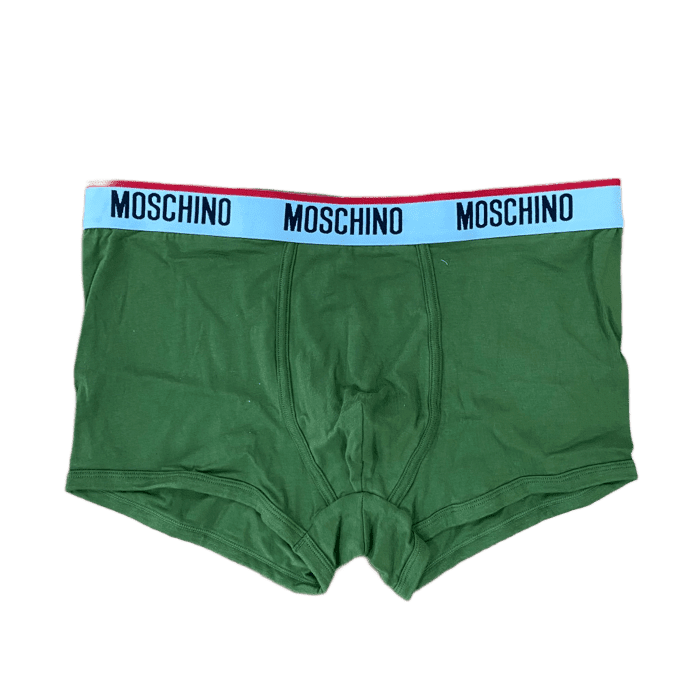 Jersey Boxer With Logo (Olive)