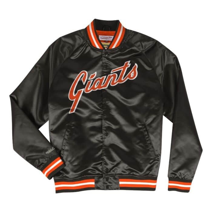 Lightweight Satin Jacket Vancouver San Francisco Giants