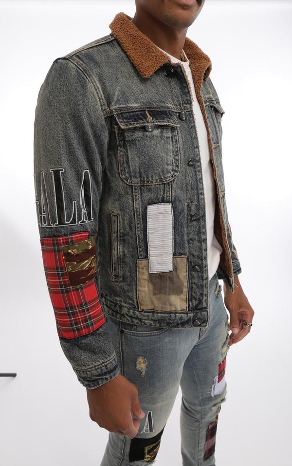 Gala Masseria Sherpa Denim Jacket