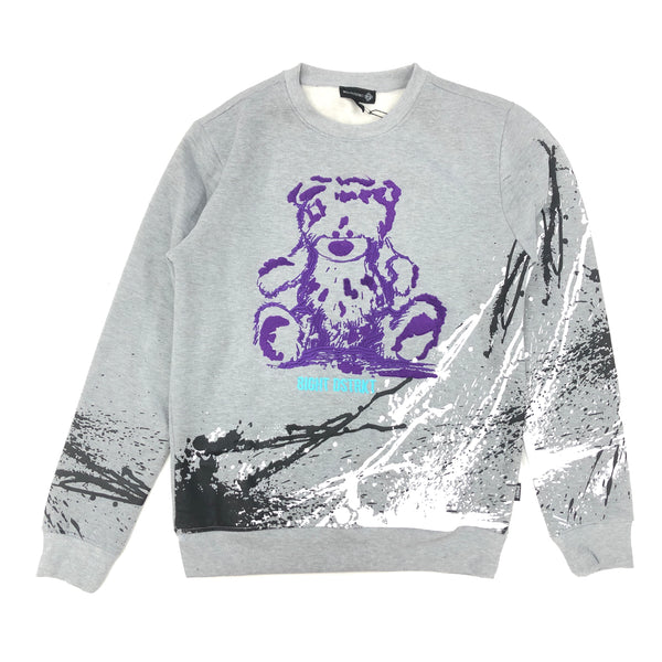 8IGHT DSTRKT Bear Crewneck (Grey)