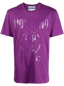 Double Question Mark Tee (Purple)