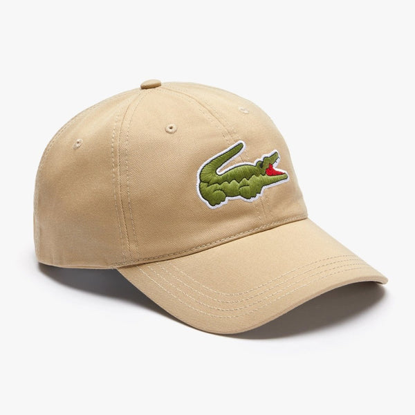 Big Croc Cap w/ Leather Strap (Beige)