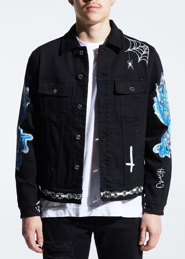 Embellish NYC Reapers Denim Jacket