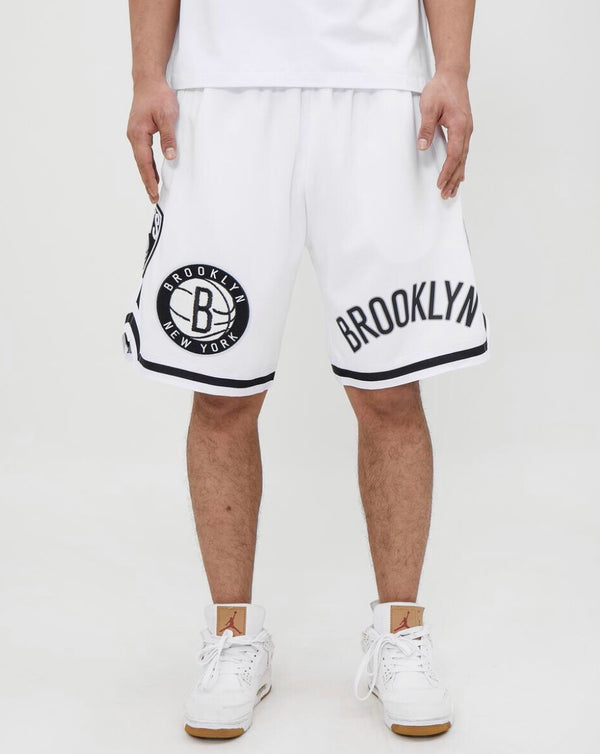 Brooklyn Nets Pro Team Short (White)