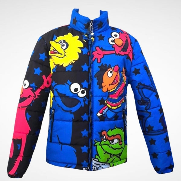 Kryptic Sesame Street 2.0 Puffer Jacket