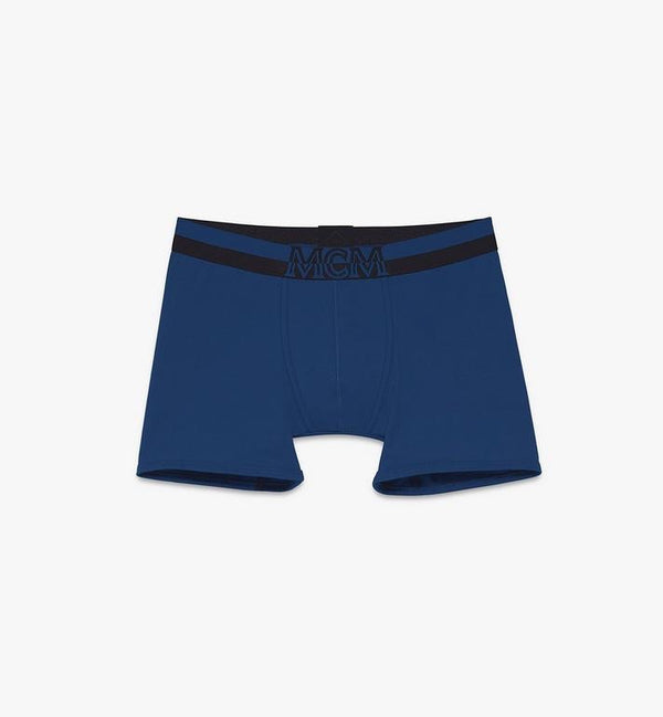 MCM-Men's 1976 Long Boxer Briefs (Blue)