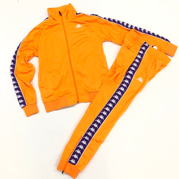 Kappa Jogging Set (Orange/Purple)