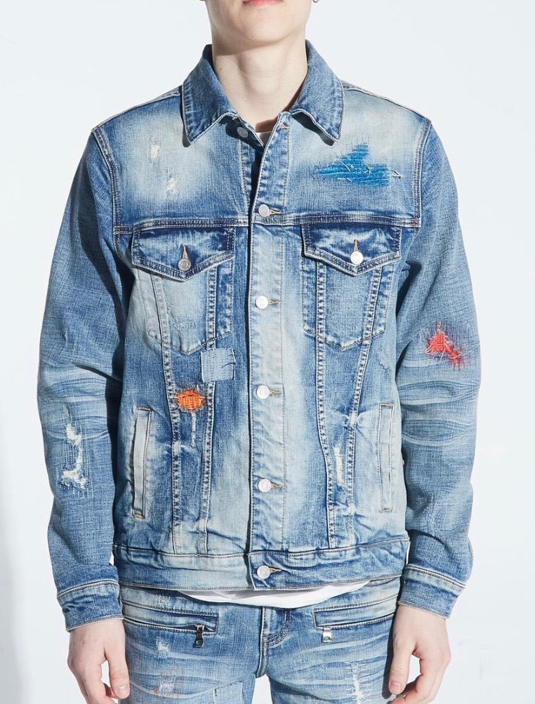Embellish NYC Hamlin Denim Jacket