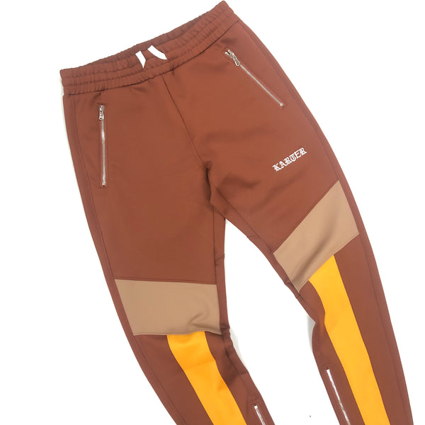 Karter Roosevelt Track Pants (Brown)