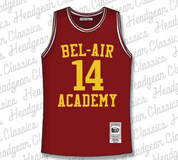 Headgear WILL SMITH BASKETBALL JERSEY IN MAROON