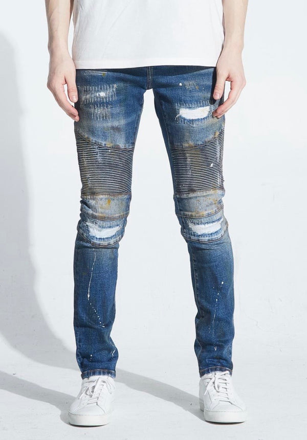 Embellish NYC Kane Biker Denim
