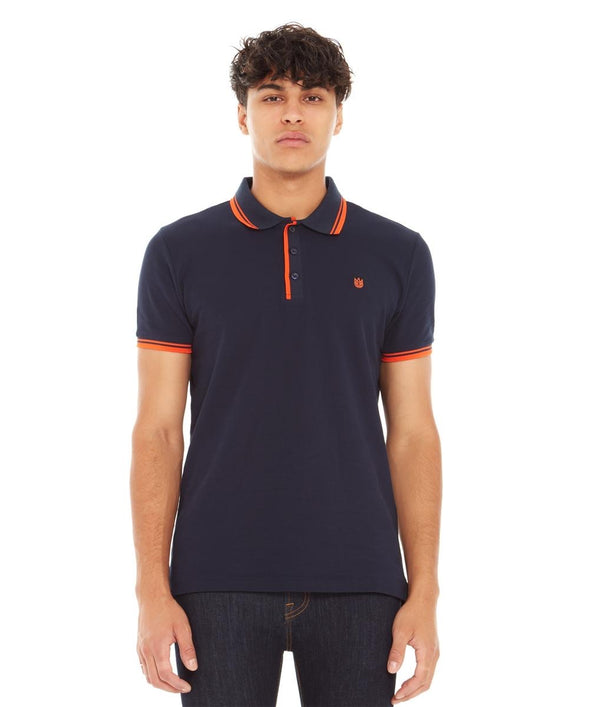 Cult Of Individuality Pique Polo (Navy)