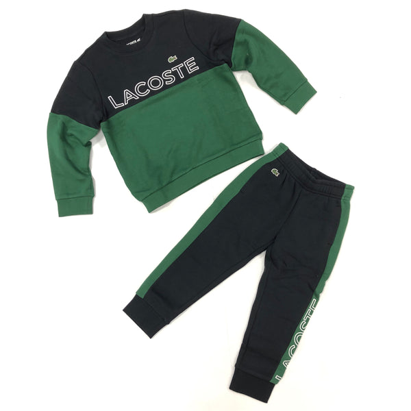 Lacoste Kids Sweater Set (Navy/Green)