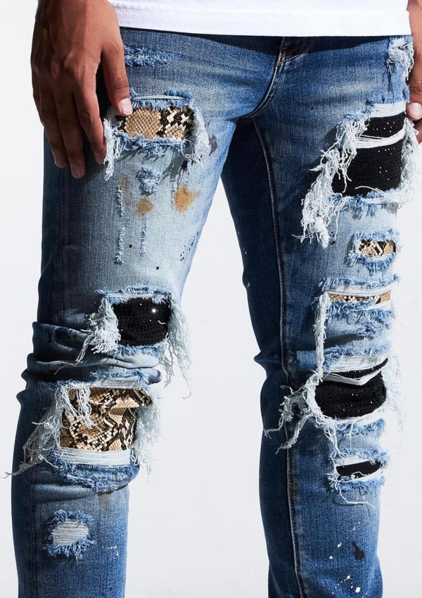 Embellish NYC Crawley Rip Jeans