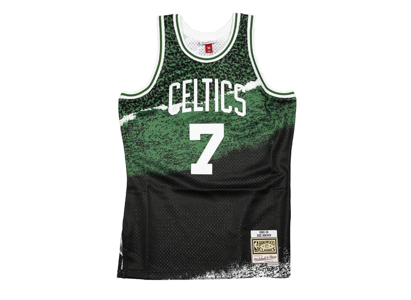 Mitchell&Ness Boston Celtics Fashion Swingman Jersey (Brown)
