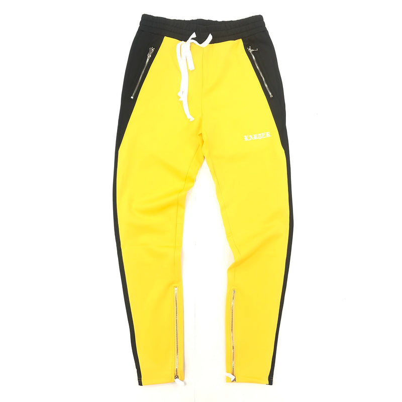 Karter Roosevelt Track Pants (Yellow/Black)