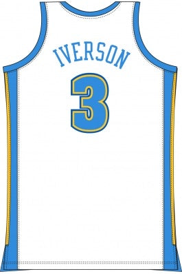 Mitchell&Ness Denver Nuggets Jersey (Allen Iverson)