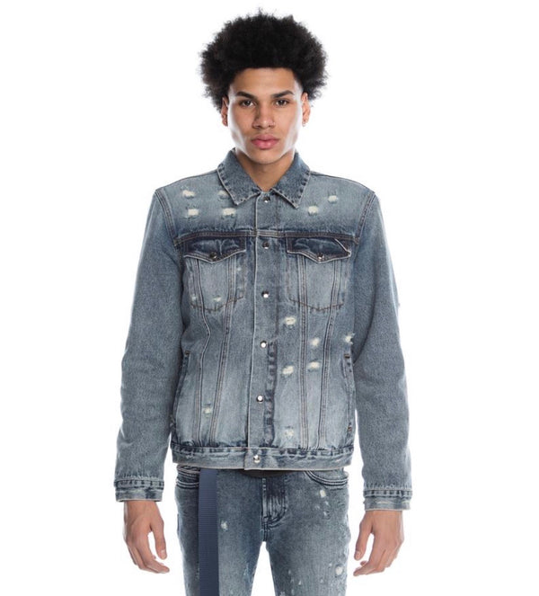 Cult Of Individuality Type 2 Grit Reversible Denim Jacket