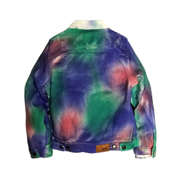 Kleep Kid's Tie Dye Denim Jacket