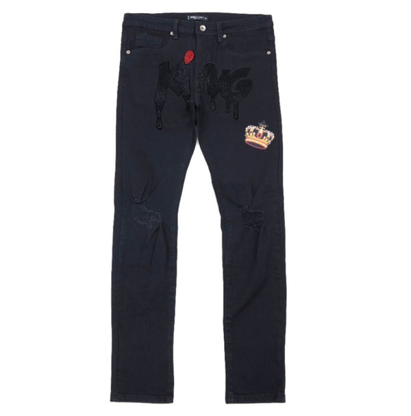 Roku One Eye King Jeans (Black)