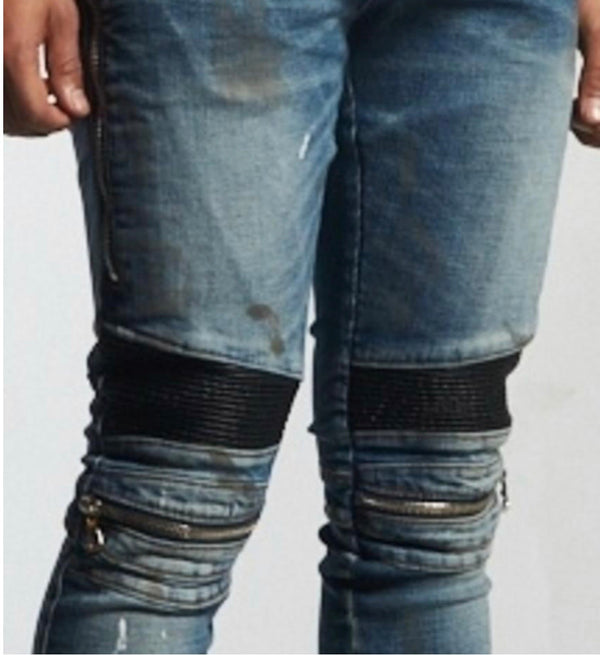 Embellish NYC Sunny Biker Denim