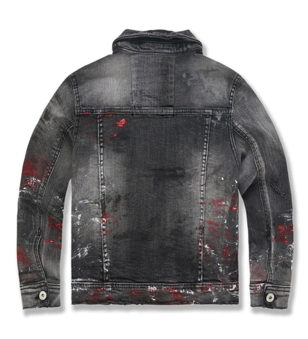 Kids Avalanche Denim Jacket (Bred)