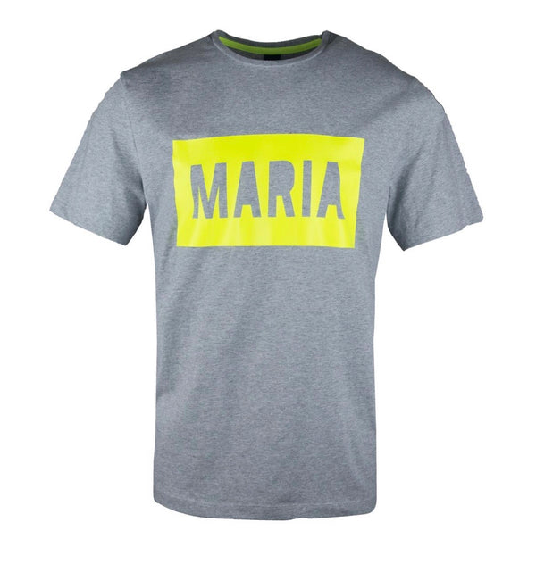 Maria-Box Reflex Tee (Grey/Yellow Neon)