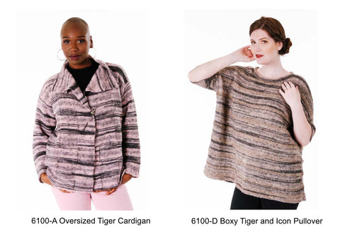 Two Tiger Sweater Patterns