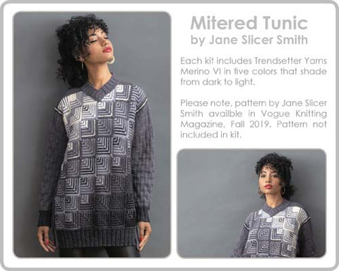 Vogue Mitered Tunic