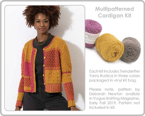 Multipattern Cardigan Kit