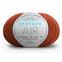 AIR Luxuria Possum 11 Burnt Tangerine Zealana,