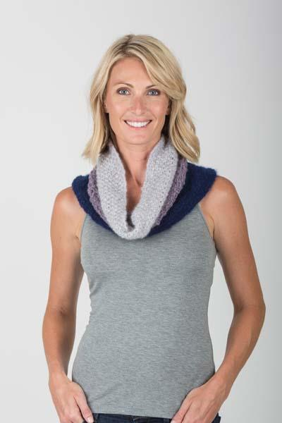 Brushmere Multi-stitch Cowl