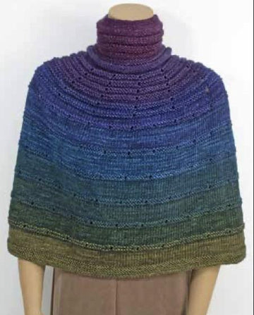 Chroma Poncho Kit - Prism Yarn