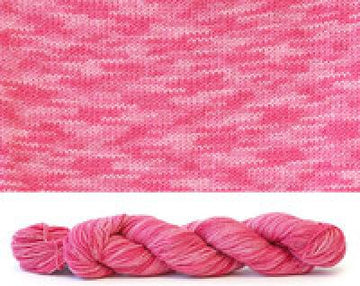 Cobasi No Wool Sock Yarn  Tonal Raspberry 915
