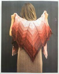 Coppertails Shawl Pattern 9501