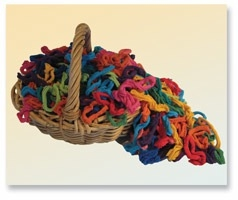 "Cotton Loops 8"" Loom Bright colors Harrisville Design"