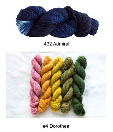 Cuarenta Shawl Kit - Color D