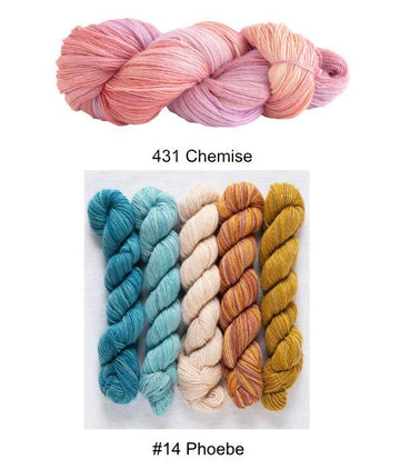 Cuarenta Shawl Kit - Color F
